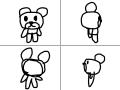 홰전곰돌이 : 빙글빙글 스케치판 ,sketchpan