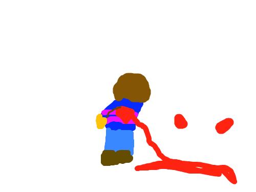 죽은프리스크 : ㅇ으으으으으으으응 스케치판 ,sketchpan