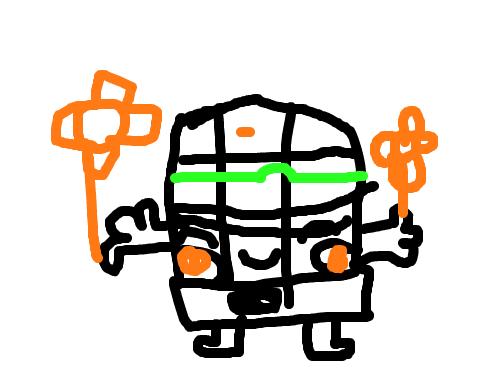동저항혼종이 : 엇?혼종이닷! 스케치판 ,sketchpan
