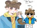 캐 너무 귀.. : 캐 너무 귀여벟ㅎ ♡ 스케치판 ,sketchpan