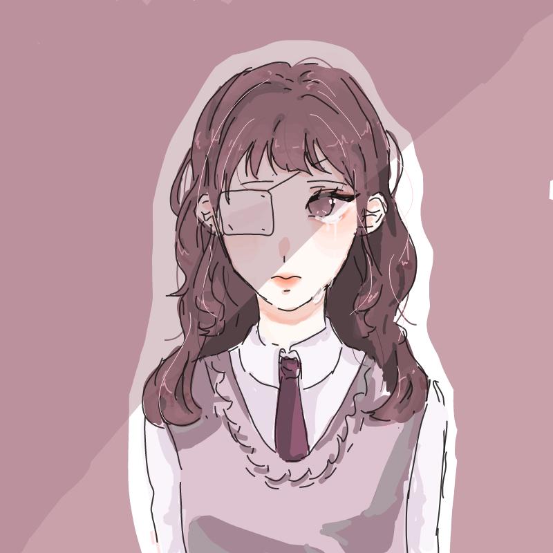 안대눈물... : 안대눈물.. 스케치판 ,sketchpan