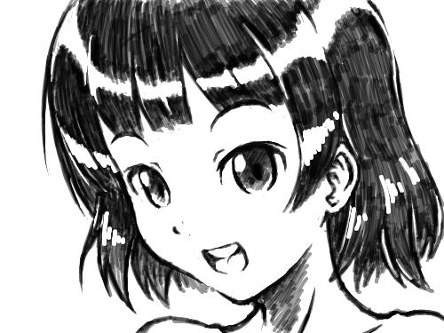 Girl 001 : 스케치판 첫 습작 스케치판 ,sketchpan
