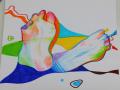 긁어도 긁.. : 긁어도 긁어도 간지러운 발바닥의 빡침을 표현해보았읍니다. 스케치판,sketchpan