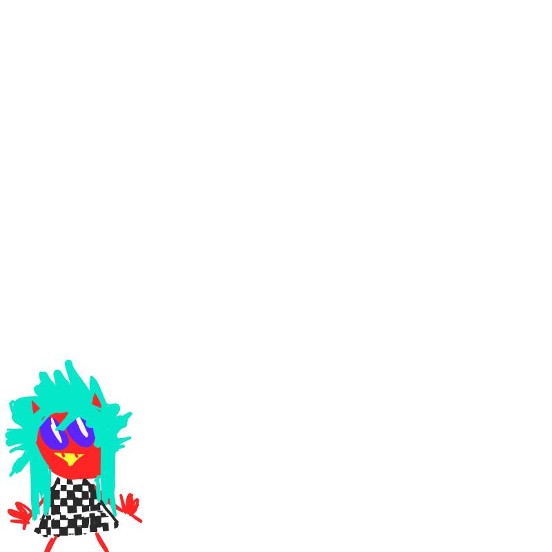 쨍한 악마 : 쨍한 악마 스케치판 ,sketchpan