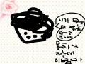 욕하고, 뽀글 뽀글 파마한 미친 아줌마 : 욕하고,미첬고,아줌마입니다. 보려면 저한테 욕하지마삼욕은안 가리켜주지~알고싶으면 직접봐 스케치판 ,sketchpan
