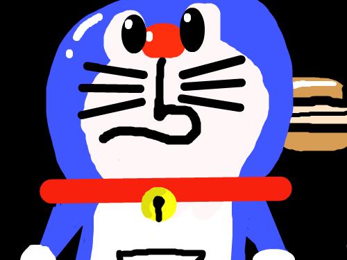 도라애몽 : 아 망했다..... ㅠㅠ 스케치판 ,sketchpan