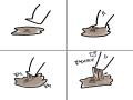 끈질긴 놈들. : 끈질긴 놈들. 스케치판 ,sketchpan