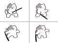 냥 : 냥 스케치판 ,sketchpan