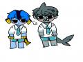 물고기.상.. : 물고기.상어 스케치판 ,sketchpan