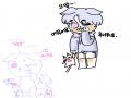 으앙 : 으앙 스케치판 ,sketchpan