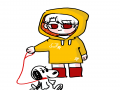 스누피 : 스누피 스케치판 ,sketchpan