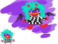 악마. : 악마. 스케치판 ,sketchpan