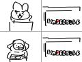 쿠키,치미 언더테일이라는 게임을 발견하다 : 쿠키,치미 언더테일이라는 게임을 발견하다 스케치판 ,sketchpan