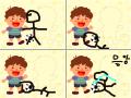 축구 : 축구하다가 넘어져서움 스케치판 ,sketchpan