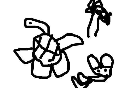토거 : 달리기... 스케치판 ,sketchpan