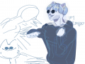 화려한미모.. : 화려한미모로악당퇴치(죄송해요8'8..*공부를합시다D-3 스케치판 ,sketchpan