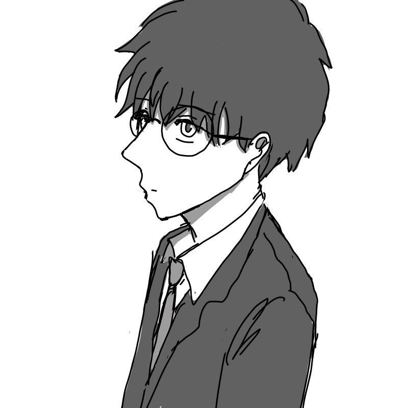 안경소년 : 안경소년 스케치판 ,sketchpan