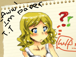 Paper?? : its a girl and she wondering why she is on paper.. not very special -__- , 스케치판,sketchpan,Tsami