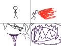 화둔 : 아마테라스 스케치판 ,sketchpan