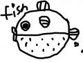물고기 : 물고기 스케치판 ,sketchpan
