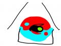 태극철권 : 태극철권 스케치판 ,sketchpan