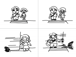 교통사고 : 신호를 지킵시다 , 스케치판,sketchpan,스케치판