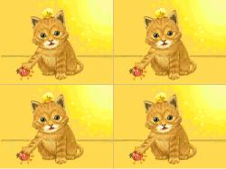 고양이 : 고양이와병아리 , 스케치판,sketchpan,스케치판