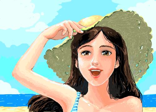 해변의여인 : 해변의여인해변의여인 스케치판 ,sketchpan