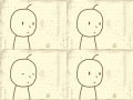눈깜빡 : 눈깜빡 스케치판 ,sketchpan