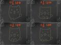 고양이춤 : 고양이의 앙증맞은 춤 스케치판 ,sketchpan