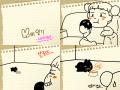 오롱이일기b : 토끼 이름짓기시작~~ 스케치판 ,sketchpan