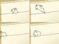 토끼뛰기 : 토끼뛰기 스케치판 ,sketchpan