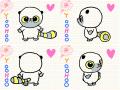 유후빙글 : 유후캐릭터 회전하기~ 스케치판 ,sketchpan