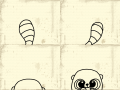유후-꼬리살랑 : 살랑살랑귀여운유후 스케치판 ,sketchpan