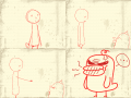 test-이걸확그냥! : 내가 무슨 죄야!! 스케치판 ,sketchpan