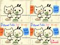 끼토 : 양고 : 식성은 달라도 우린 친구!^^양고와 끼토외에도 재미있는 캐릭터를 만들어보세요~ 스케치판 ,sketchpan