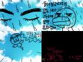 미운오리8 : 으악!!! 하는 미운오리 스케치판 ,sketchpan