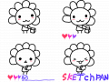 스케치판 : 귀여운 스케치판 놀이~ 스케치판 ,sketchpan