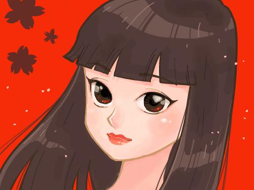 소녀 : 미소녀 스케치판 ,sketchpan