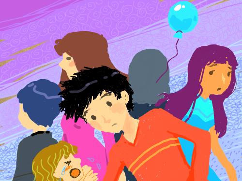 각양각색 : 사람들의 모습 스케치판 ,sketchpan