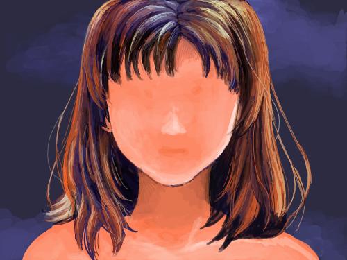 미녀도 : 예쁜 얼굴을 만들어 주세요~ 스케치판 ,sketchpan