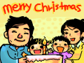 merry  christmas : 크리스마스는 가족과 함께~^^ 스케치판 ,sketchpan