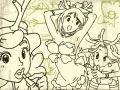 루돌프언니들-스케치 : 루돌프언니들-스케치 스케치판 ,sketchpan