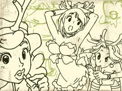 루돌프언니들-스케치 : 루돌프언니들-스케치 , 스케치판,sketchpan,스케치판