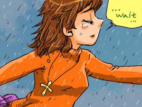 아쉬움 : 하지만 흐리면 맑아지듯.   행복해질꺼야~ 스케치판 ,sketchpan
