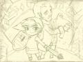 젤다-몽환의모래성-스케치 : nds최신 게임입니다.~제가 젤다전설 시리즈를 무척 좋아해서 ㅎㅎ 여러분들도 한번 선도 따보고 채색도 해 보세요^^ 스케치판 ,sketchpan