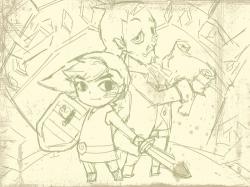 젤다-몽환의모래성-스케치 : nds최신 게임입니다.~제가 젤다전설 시리즈를 무척 좋아해서 ㅎㅎ 여러분들도 한번 선도 따보고 채색도 해 보세요^^ , 스케치판,sketchpan,스케치판
