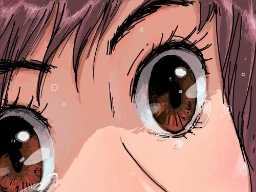 맑은눈물 : 속상하면 울어! 펑펑울고!! 웃어! 스케치판 ,sketchpan