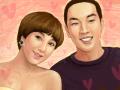 서인영커플 : 우리결혼했어요~ㅎㅎ둘 참 위태위태하면서도 재미있는 커플이예요~진짜 결혼하는거 아냐?ㅋㅋㅋ 스케치판 ,sketchpan