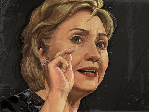 힐러리 : 멋진 여성입니다~ 스케치판 ,sketchpan